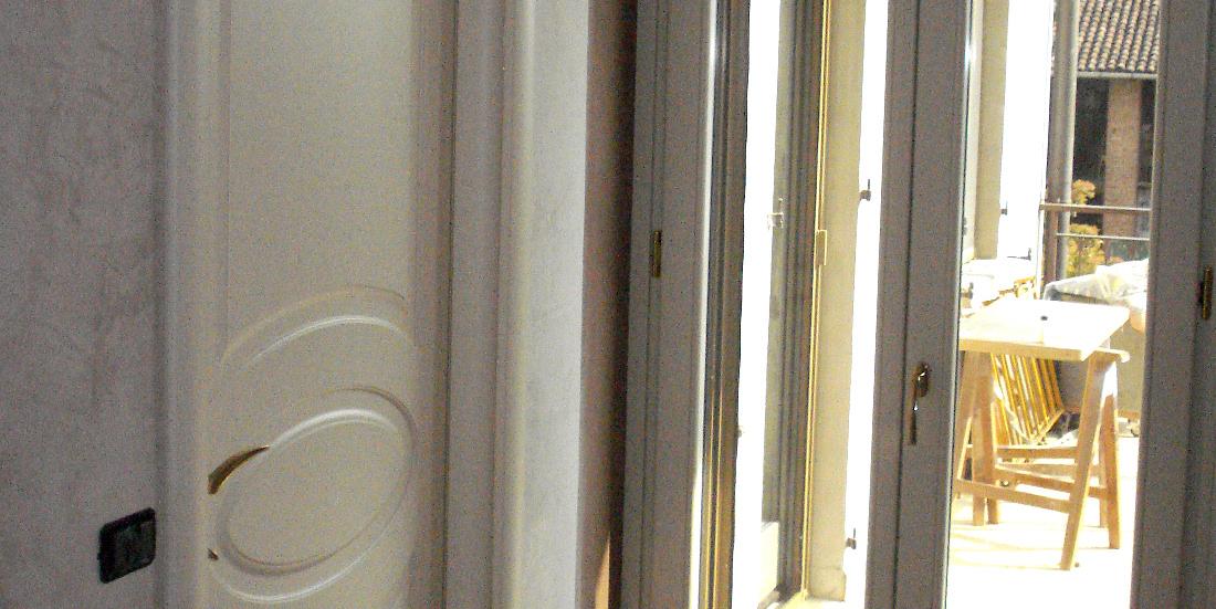 Porte e finestre in legno progettate costruite e vendute da la bergamasca falegnameria - Porte finestre legno ...