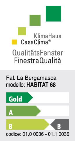 Finestr di qualit casaclima de la bergamasca falegnameria for Finestra qualita casaclima
